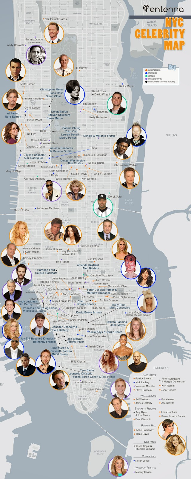 Gossip Girl New York Tour Map
