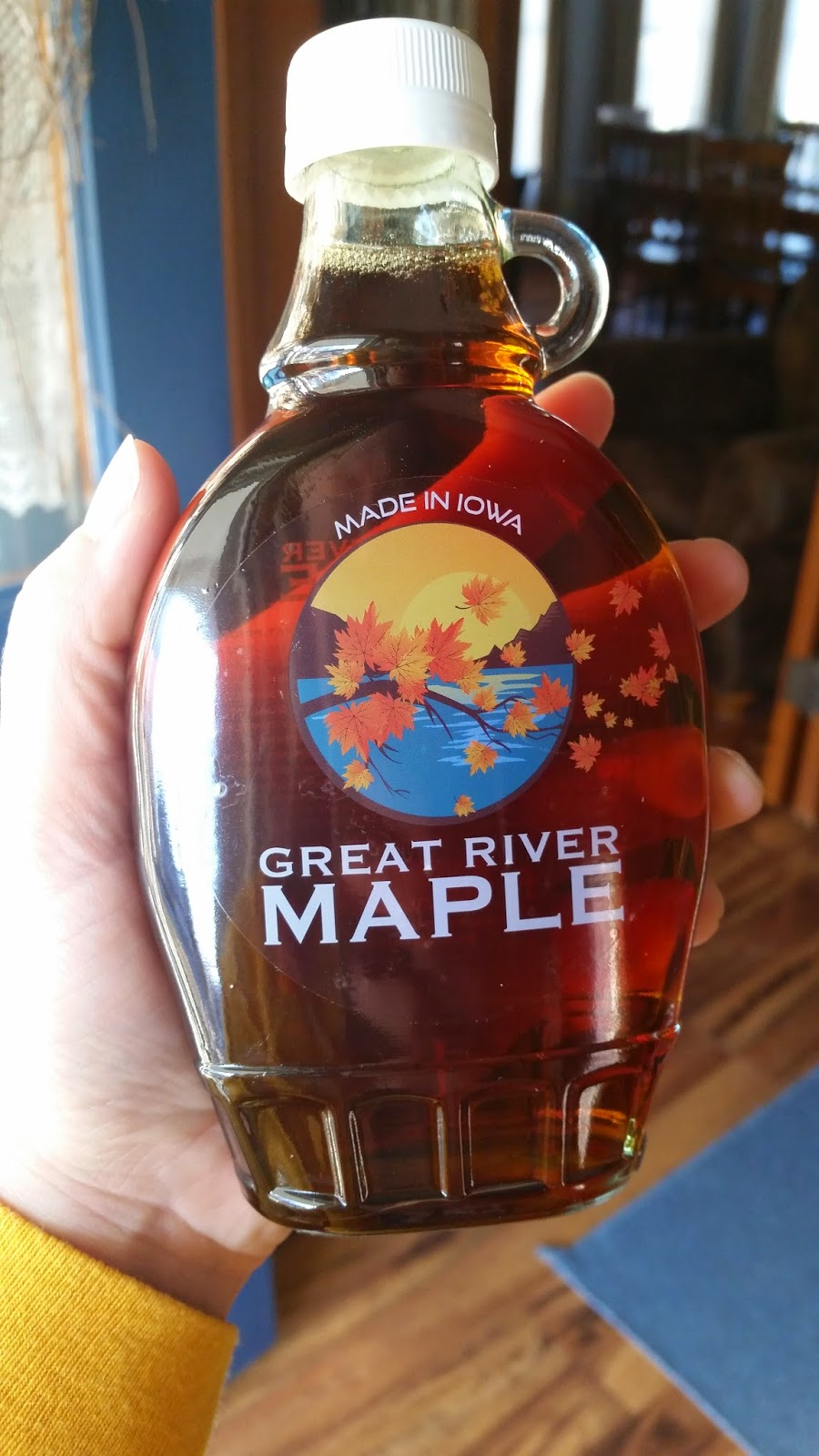 the sustainable couple great river maple an iowa maple syrup