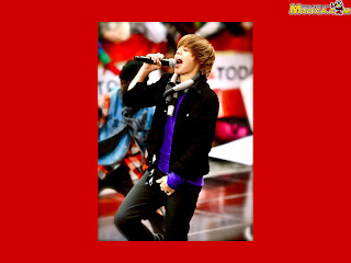 Justin Biber red pictures