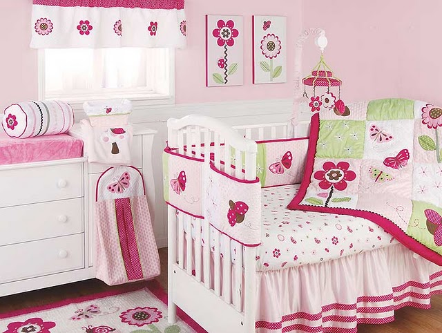 Little girls bedroom little girl room designs - Baby girl room decor pictures ...