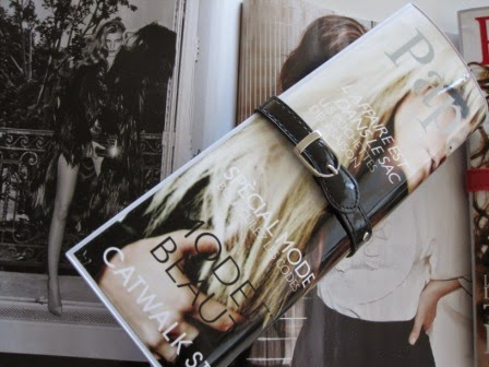 Cartera clutch revista.
