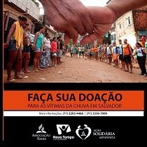 Ação Solidária Salvador! Ajude!