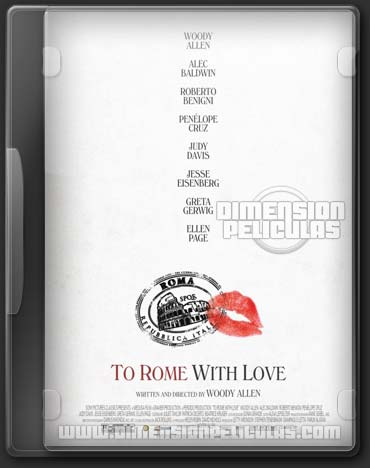 To Rome With Love (DVDRip Ingles Subtitulado) (2012)