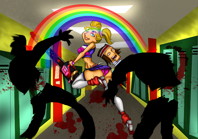 Totally Lollipop Chainsaw por drago-flame