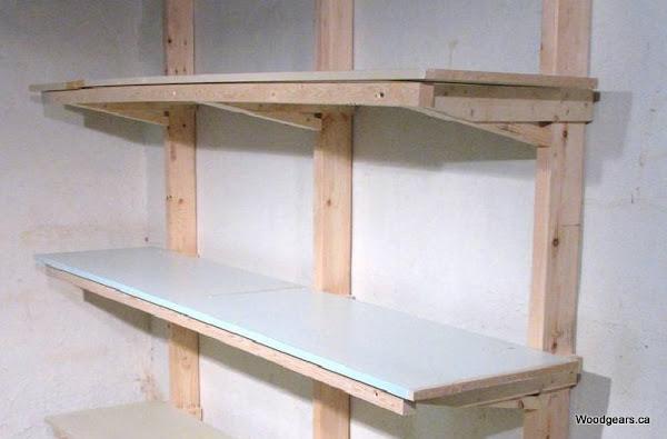 estanteria de madera hacer bricolaje es