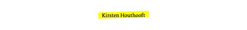 Kirsten Houthooft