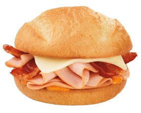 Turkey Cheddar and Bacon Sandwich