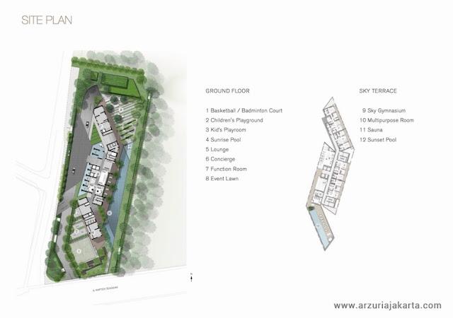 Arzuria Apartment Site Plan