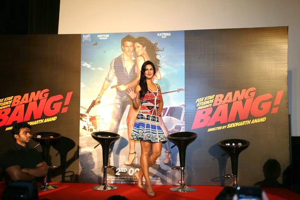 Bang Bang Movie Title Track Lauch Photo Gallery