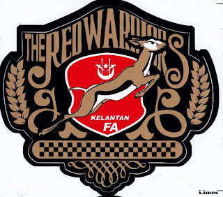 the red warriors, kelantan fa, logo kelate