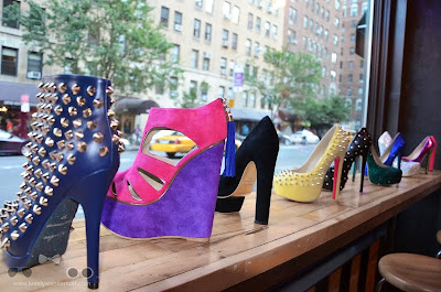 WanderLust photo of some of their favorite pairs of Kandee shoes
