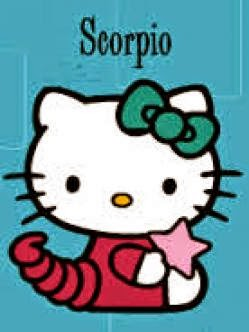 Hello Kitty es de signo escorpion