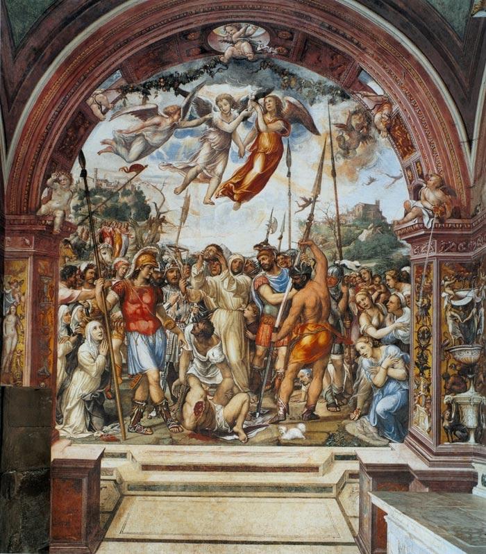il Sodoma - esecuzione di Niccolò di Tuldo
