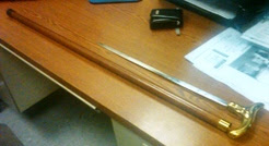 Sword Cane Found at ROC