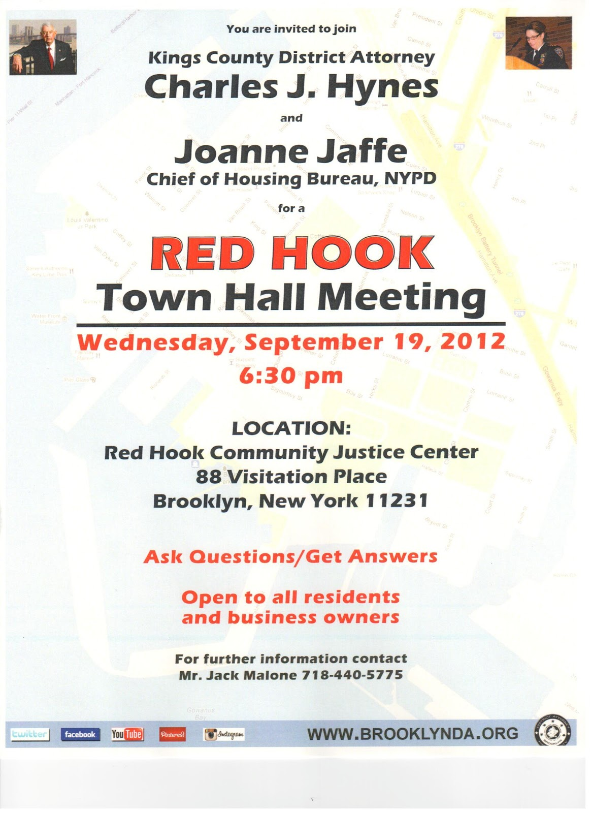 Red Hook Town Hall Meetingred hook town