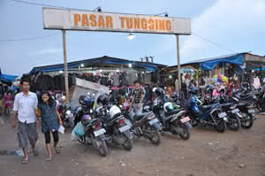 Pasar Tungging Banjarmasin