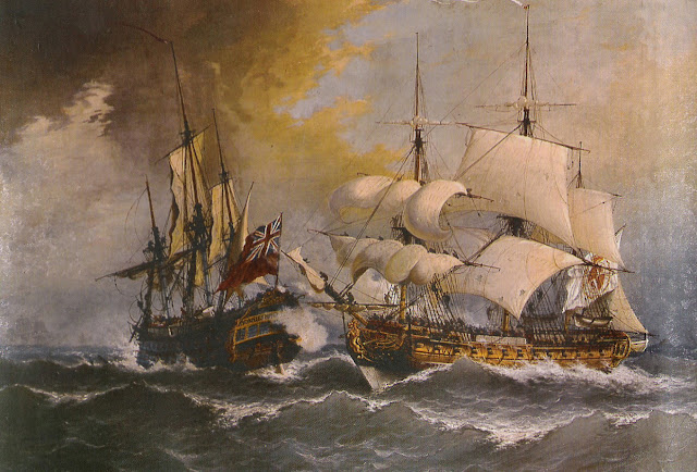 La rendición del Stanhope, Museo Naval Madrid