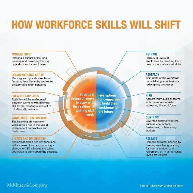 How workforce skills will shift