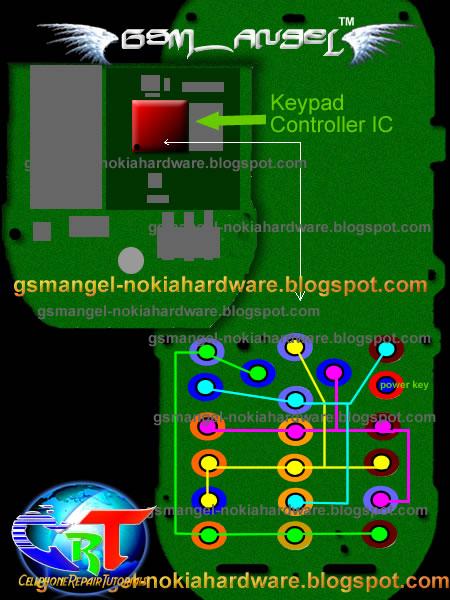 All Gsm Hardware Free Solution Nokia 1800 Keypad Jumper Ways