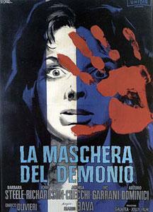Cartel original de La máscara del demonio