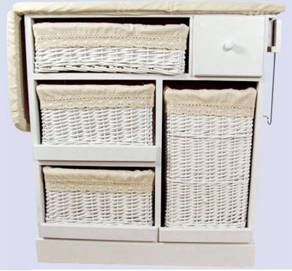 Para planchar mejor decoracion y manualidades - Mueble para guardar tabla de planchar ...
