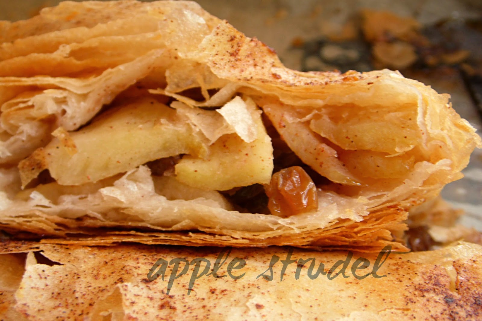 Cooking in Hungary: Easy Apple strudel using Phyllo (Filo ...