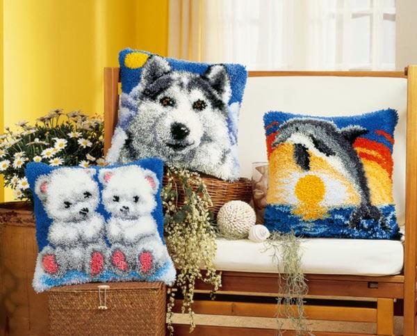 ковровая техника вышивки