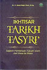 toko buku rahma: buku IKHTISAR TARIKH TASYRI', pengarang abdul majid khon, penerbit amzah