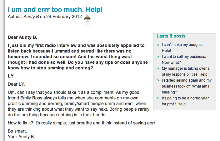 Agony Aunt Template. rrh testing case study. marking ladders by ...