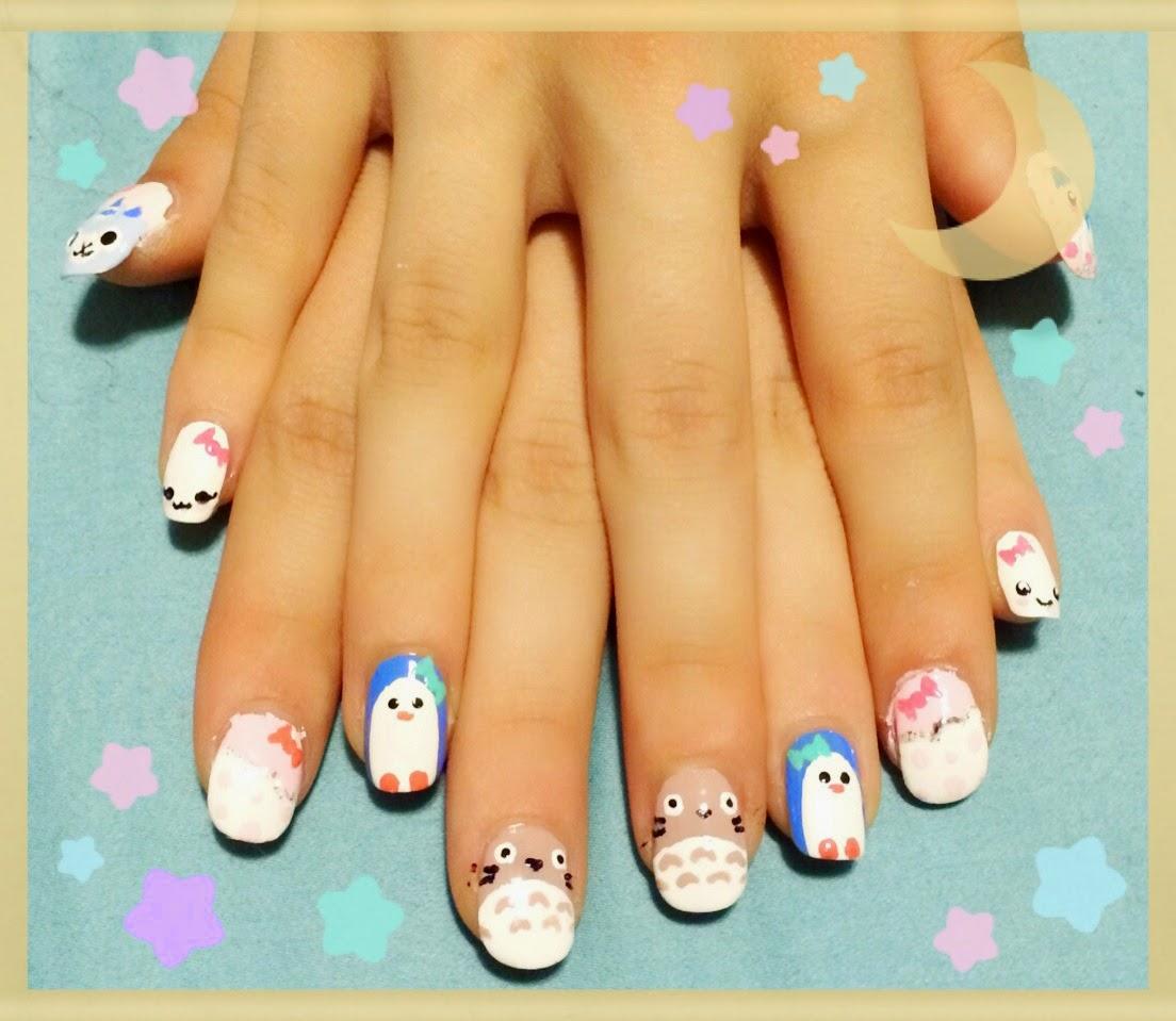 My Sweet Sent ❀: Kawaii Nail Art