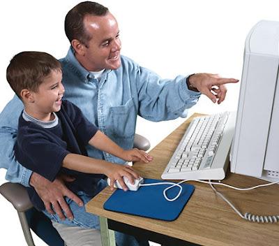 Việc quan tâm định hướng cho trẻ em trong việc sử dụng Internet là rất cần thiết…