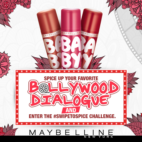 Contest ~ Maybelline Baby Lips  Spiced Up #SwipeToSpice Challenge