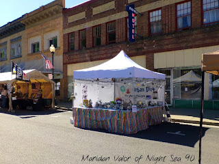 Local Street Fair; Urban Dirt booth. See more on Night Sea 90.