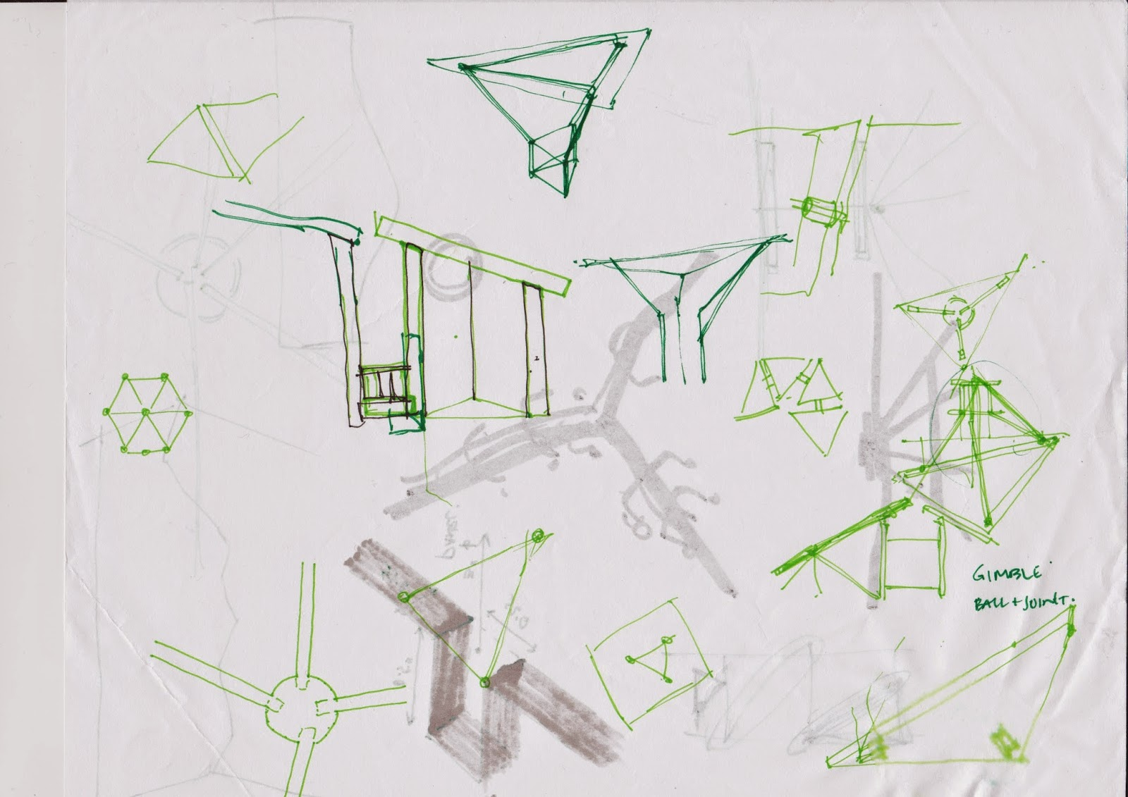 Paul H Cocker Gallery Feature Wall Blog Schematic Design Sketches