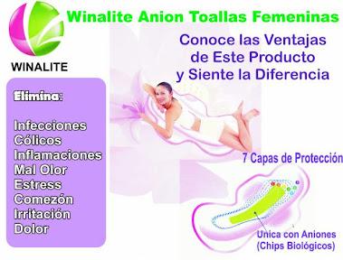 BENEFIICIOS TOALLAS ANION