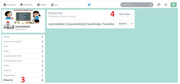 Blogger Twitter Zaman Akışını Ekleme Yöntemi