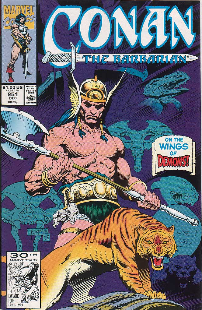 Conan the Barbarian (1970) Issue #251 #263 - English 1