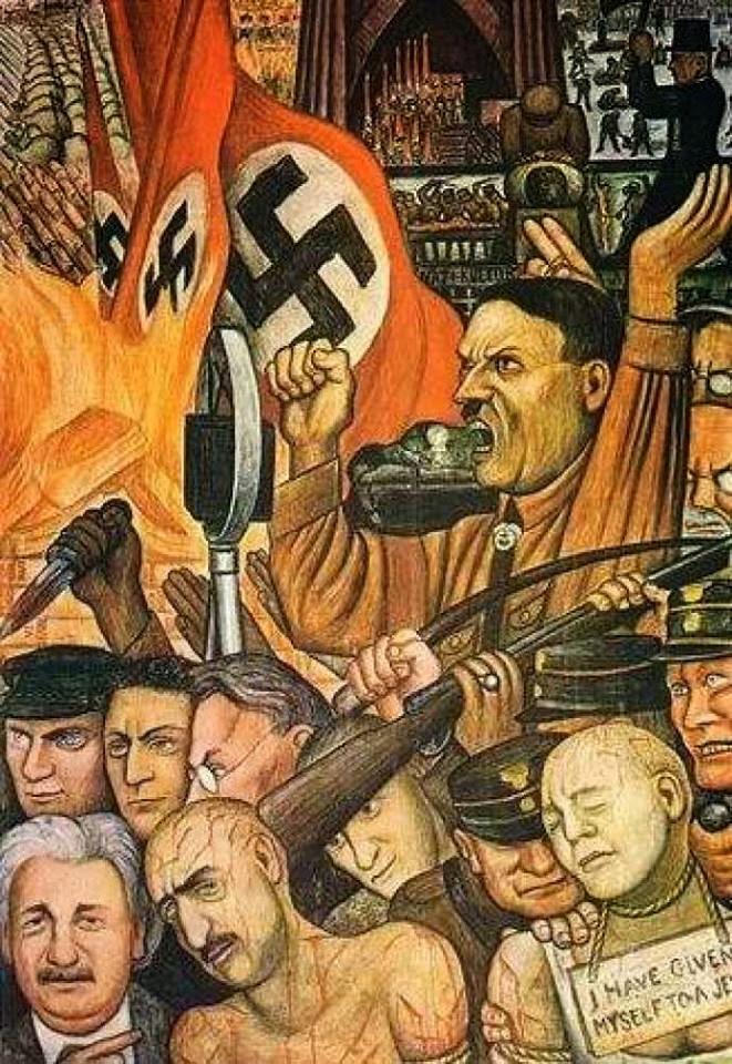 Ντιέγκο Ριβιέρα, Χίτλερ.