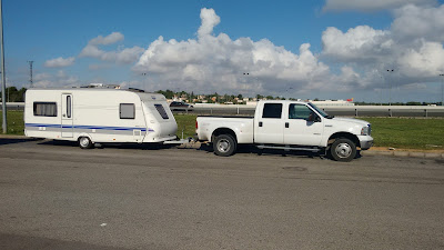 UK Spain caravan towing service
