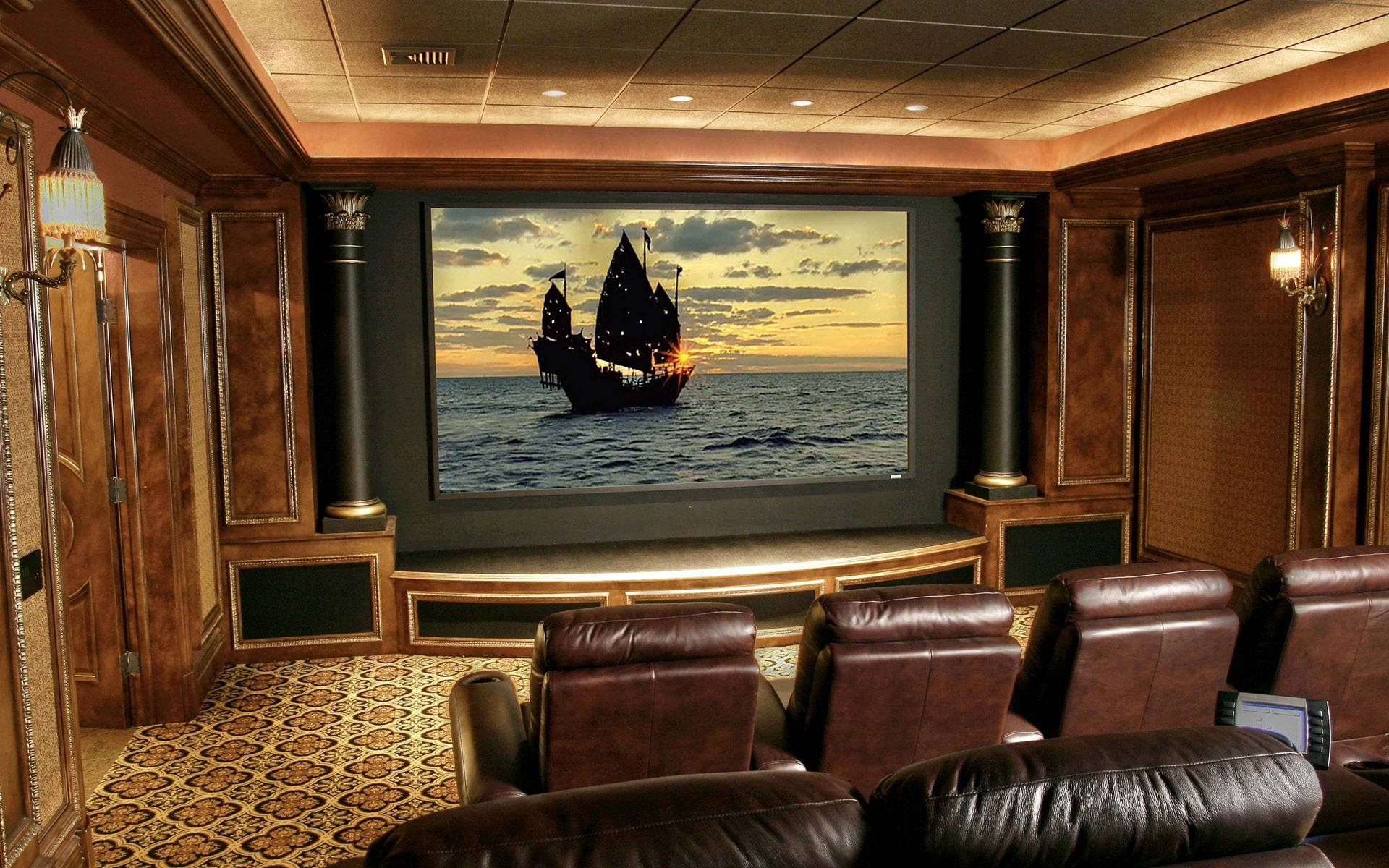 Home Theater Wallpaper 811109