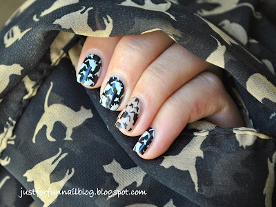 Cats Nails ~ Mew ^^ with DRK-A Stamping Plate