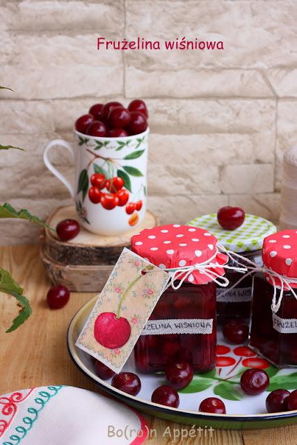 Frużelina wiśniowa przepis