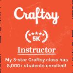5 K Craftsy Instructor