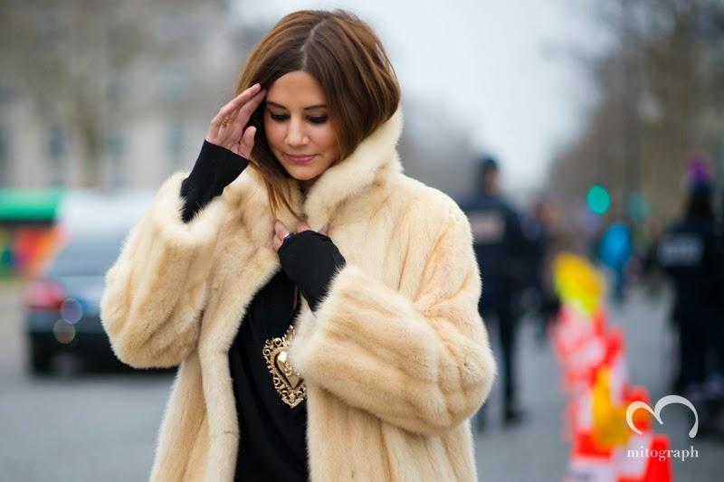 Senior Editor of Vogue Australia Christine Centenera at Christian Dior 2013 Fall Winter Fashion Show at Paris