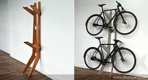 Muebles para aparcar la bicicleta en casa ideas - Armarios para bicicletas ...