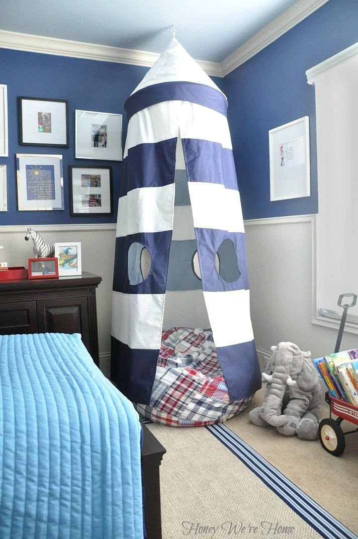 Honey We're Home: Pottery Barn Kids & PBS Kids Reading Nook