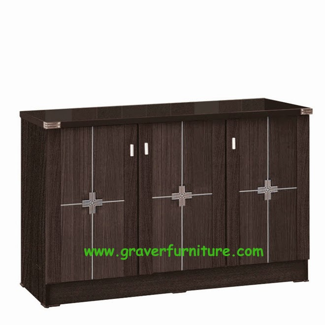 Kitchen Set Bawah 3 Pintu KSB 2843 Graver Furniture