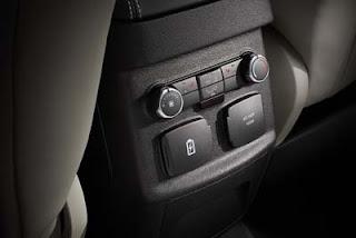 2016 Ford Explorer Rear Controls