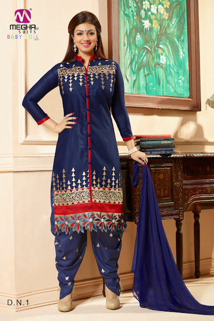 Baby Doll-14 – Latest Cotton Dress Material Wholesale