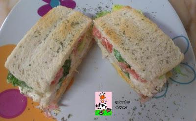 SÚPER SANDWICH...
